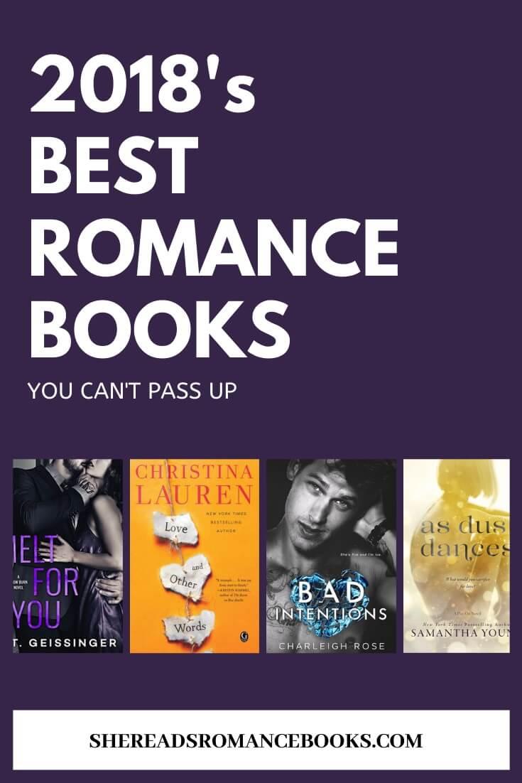 Best romance books of 2018 book list.
