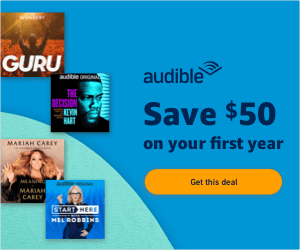 Audible - the best gift for bookworms.
