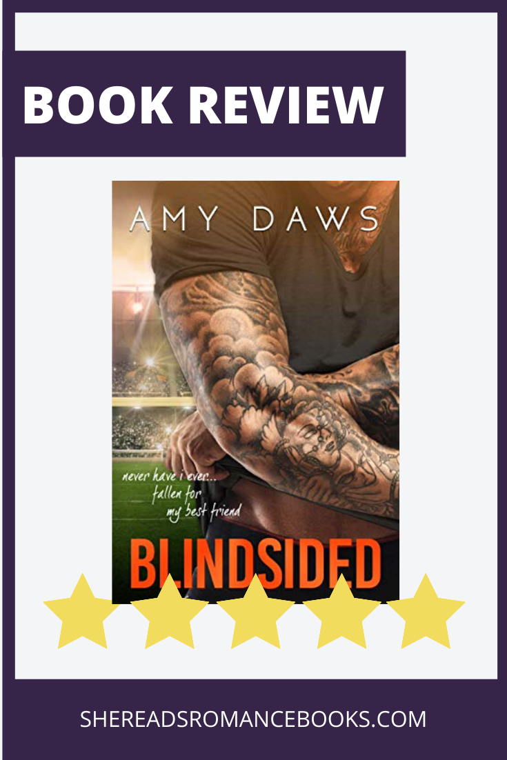Review of Blindsided by Amy Daws by She Reads Romance Book