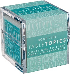 Book club table topics are one of the best gifts for bookworms.
