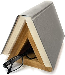 Book holder - one of the best gifts for bookworms.
