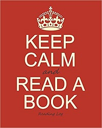 Keep Calm book journal is one of the best gifts for bookworms.