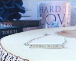 Book lover necklace is one of the best gifts for bookworms.