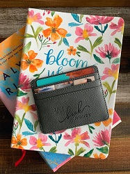 Book themed card holder is one of the best gifts for bookworms.