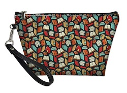 Cosmetic bag clutch is one of the best gifts for bookworms.