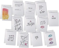 Love notes are one of the best gifts for romance readers.
