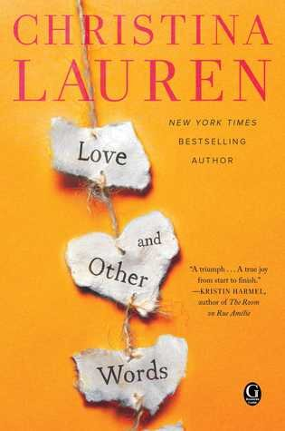 Love and Other Words is one of the best second chance romance books worth reading