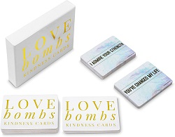 Love bomb notes are one of the best gifts for romance readers.