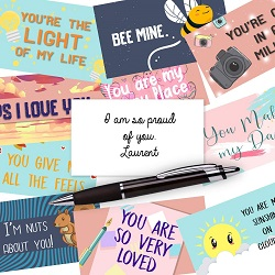 Lunch box notes are one of the best gifts for romance readers.