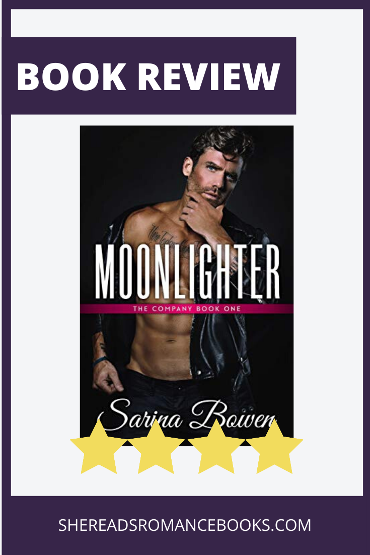 Moonlighter by Sarina Bowen Romance Book Review by She Reads Romance Books