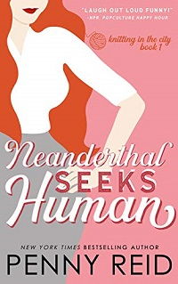 Neaderthal Seeks Human book cover - a signed book makes the best gift for bookworms.