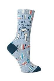 Bookish socks are one of the best gifts for bookworms.
