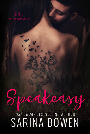 Speakeasy is a book with a hot romance novel cover.