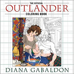 Outlander coloring book is the perfect gift for romance readers.
