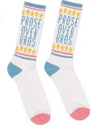 Bookish socks are one of the best gifts for readers.