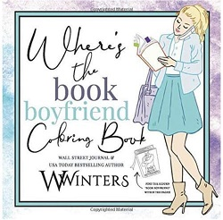 Book boyfriend coloring book is the best gift for romance readers