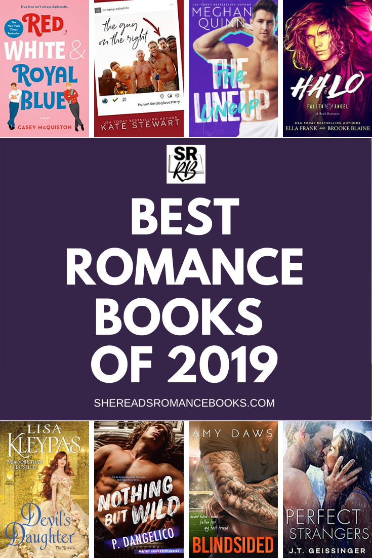 Book list of the best romance books of 2019.