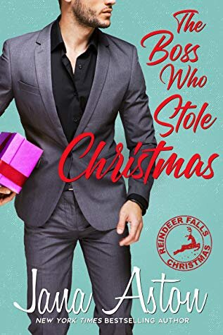 The Boss Who Stole Christmas book cover