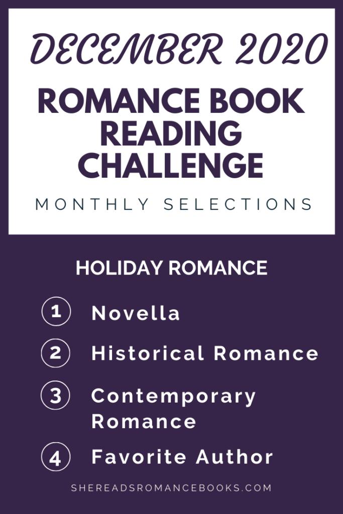 December 2020 Romance Book Reading Challenge