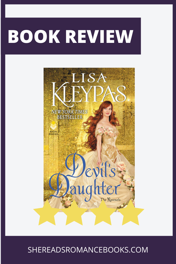 Devil's Daughter by Lisa Kleypas, full book review by She Reads romance Books
