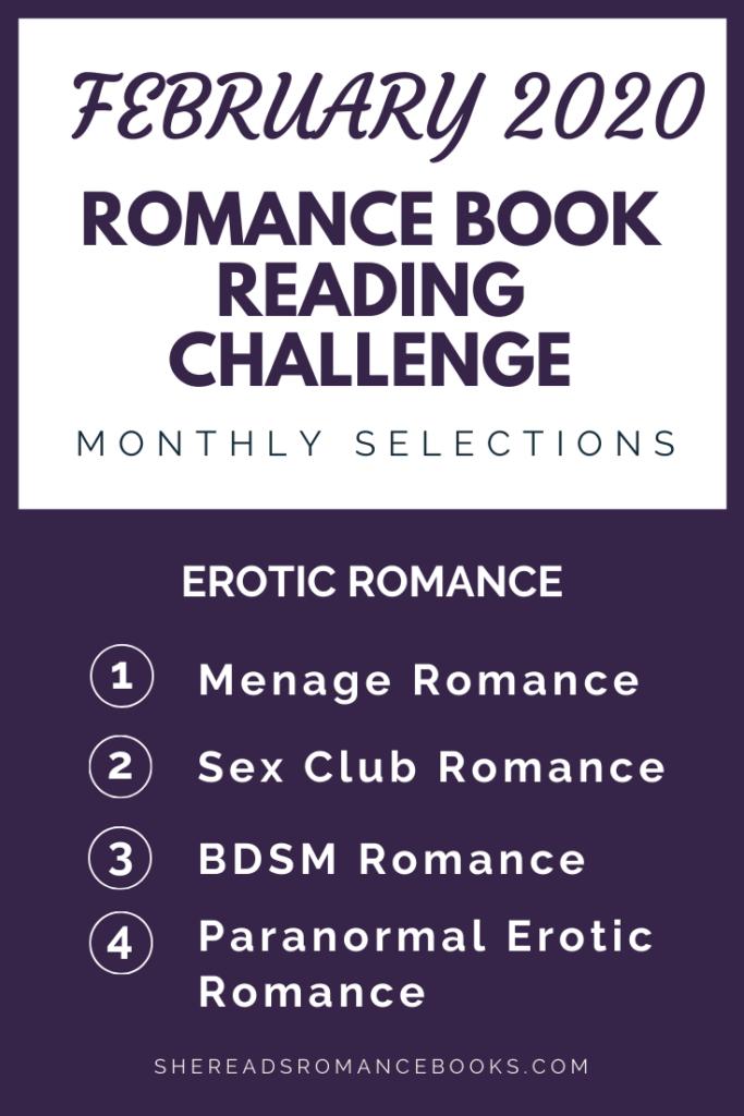 February  2020 Romance Book Reading Challenge