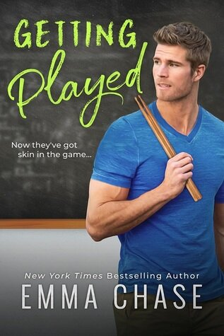 """Getting Played by Emma Chase is a sweet love story featuring an """"oops"""" pregnancy after one hot one night stand. It's sure to please all Emma Chase fans and fans of this romance book trope."""