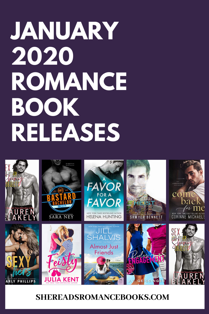 Discover the must read new romance book releases for January 2020
