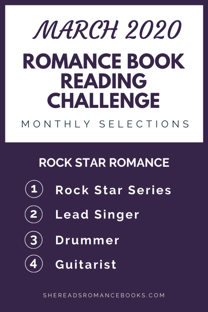 March  2020 Romance Book Reading Challenge