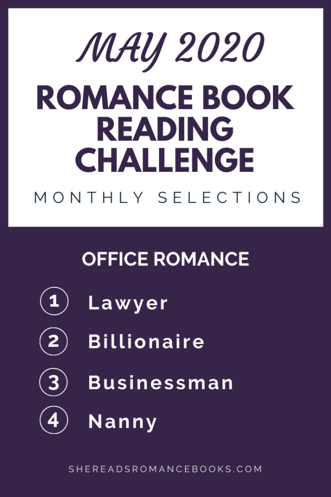 May  2020 Romance Book Reading Challenge
