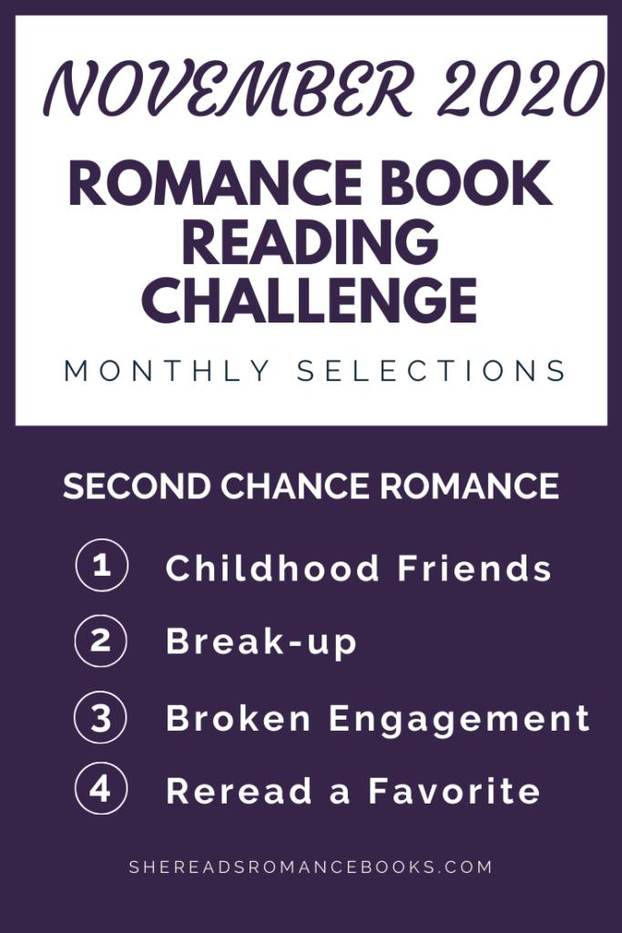 november 2020 Romance Book Reading Challenge