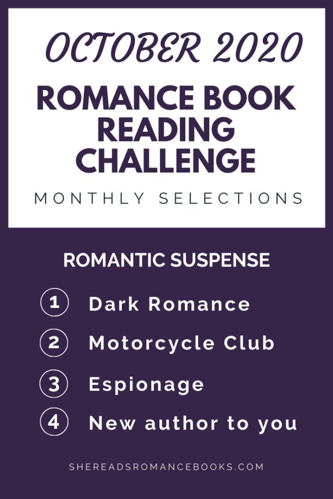 October  2020 Romance Book Reading Challenge