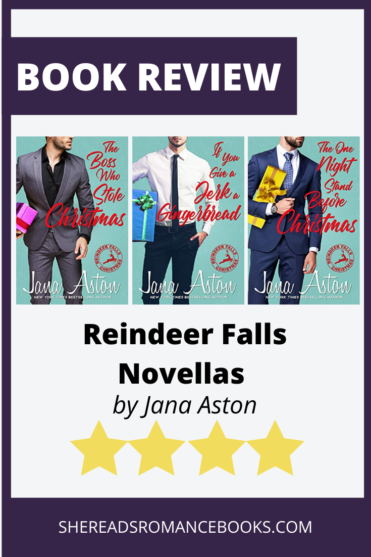 Check out my review of the Reindeer Falls series by Jana Aston by She Reads Romance Books