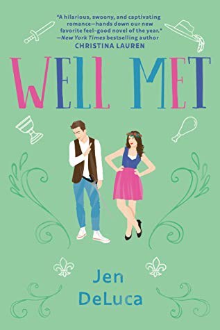 Well Met is a nominee for best romance book in the 2019 Goodreads Choice Awards.