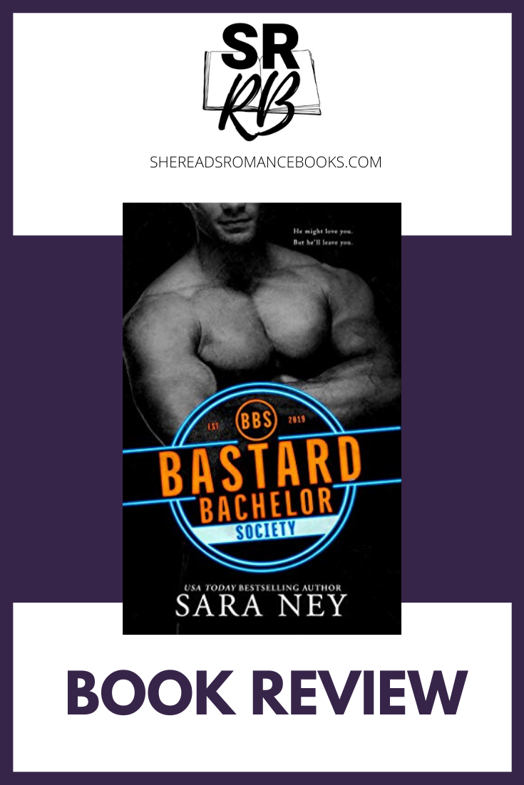 Bastard Bachelor Society by Sara Ney is a new contemporary romance for January 2020. Check out the book review by romance blogger, She Reads Romance Books.