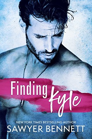 Finding Kyle is a book with a hot romance novel cover.