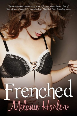 Frenched is a book with a hot romance book cover.