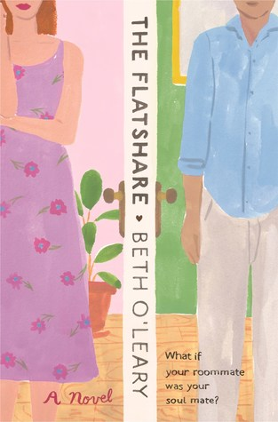 The Flatshare by Beth O'Leary book cover.