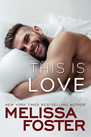 This is Love is a book with a hot romance novel cover.