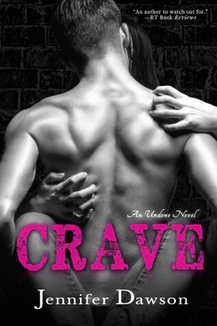 Crave book cover which is one of the best erotic romance novels.
