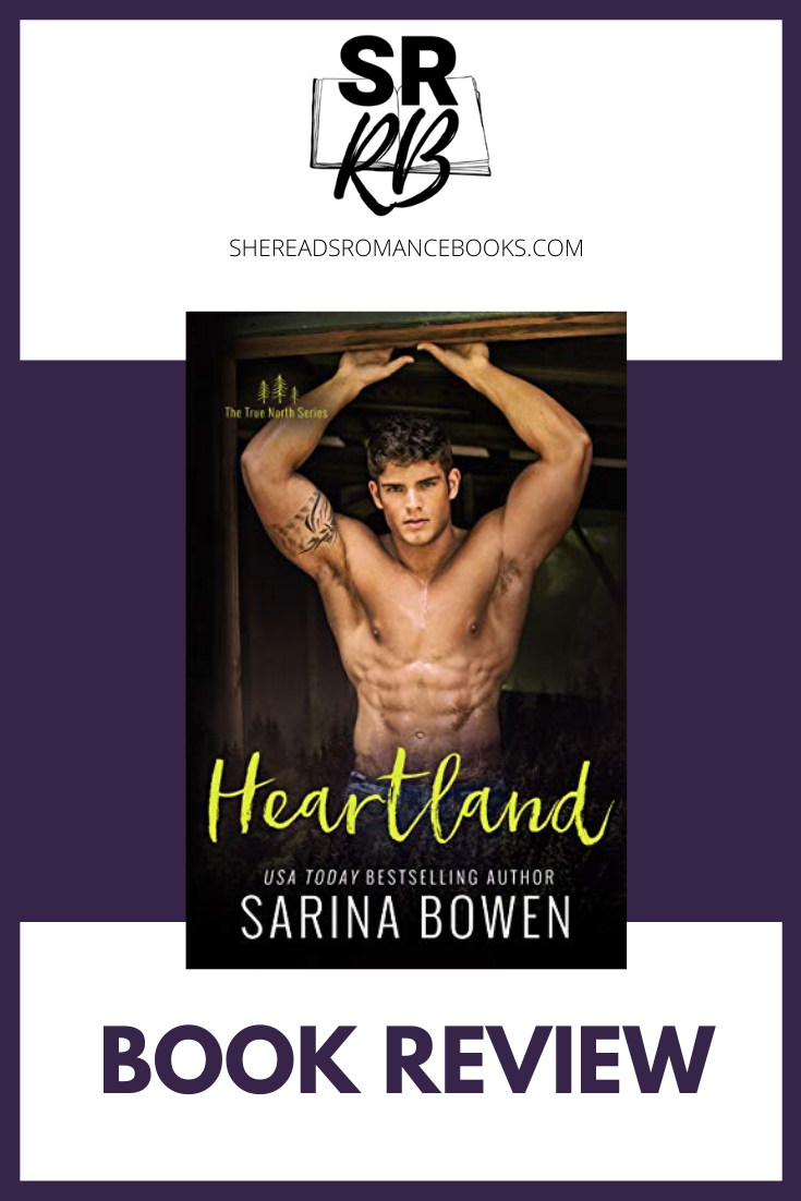 Heartland by Sarina Bowen is a lovely friends to lovers, new adult romance that continues the beloved True North Series. Read the full book review by popular romance book blogger, She Reads Romance Books.