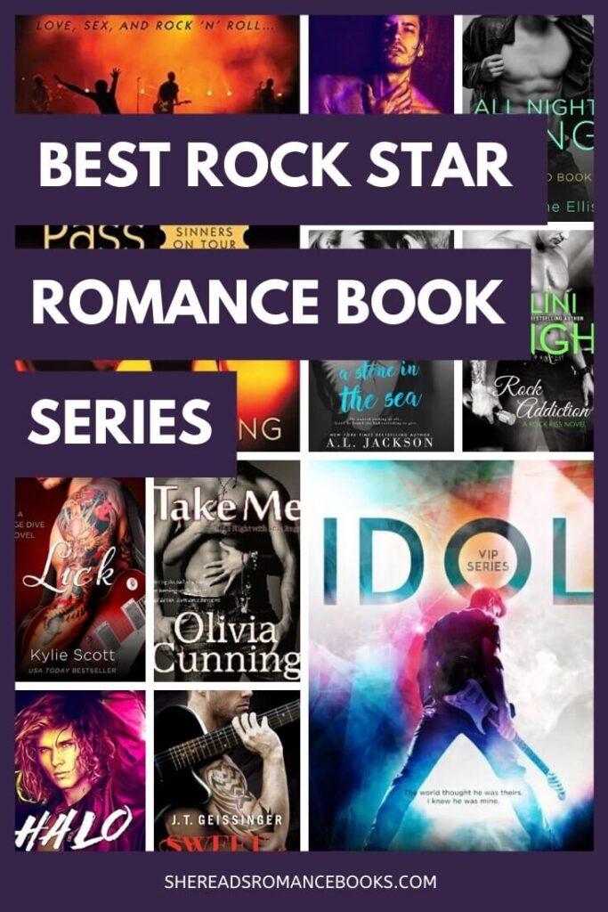 Book list of the best rock star romance series