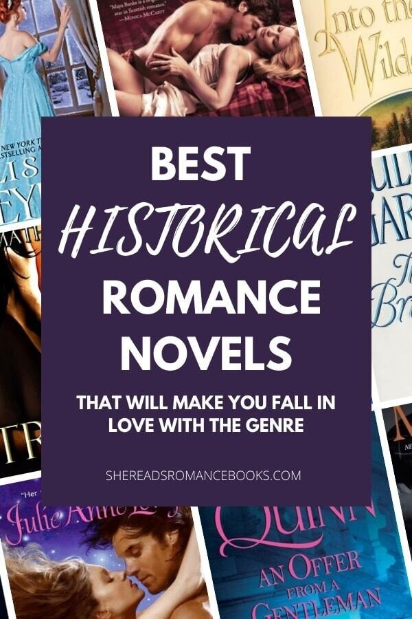Best historical romance novels are listed in this book list.