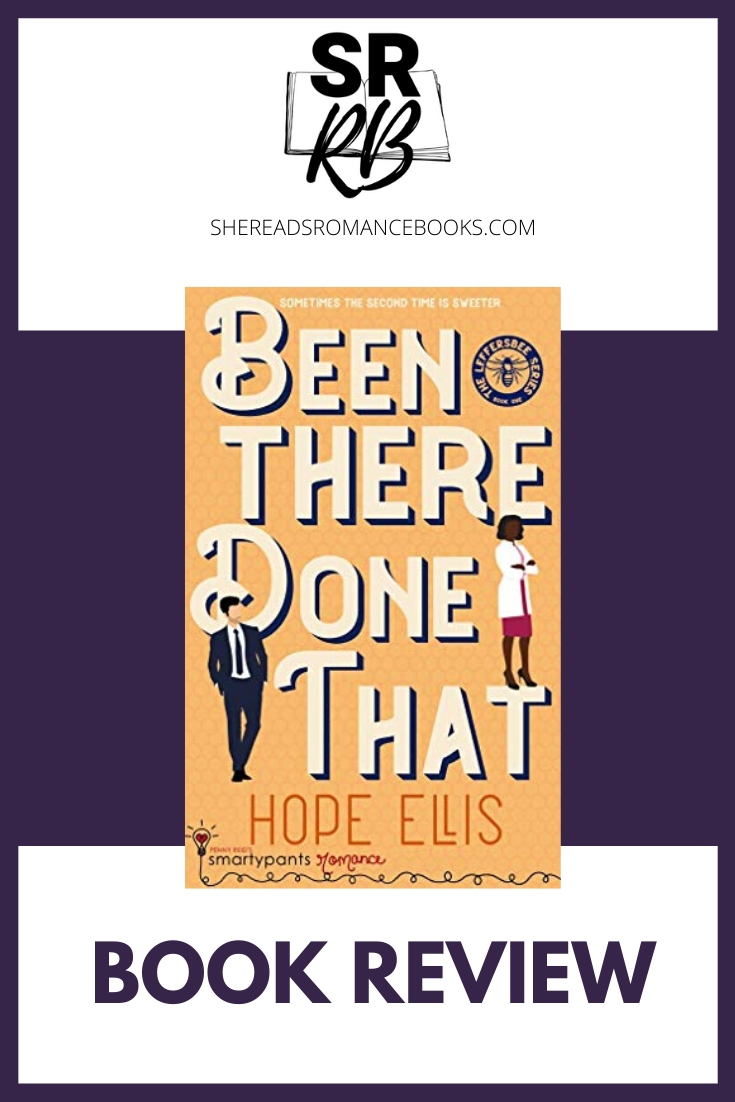 Been There Done That by Hope Ellis is a wonderful second chance romance that I highly recommend reading. Check out my full book review by She Reads Romance Books.
