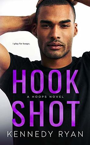 Hook Shot is a book with a hot romance novel cover.