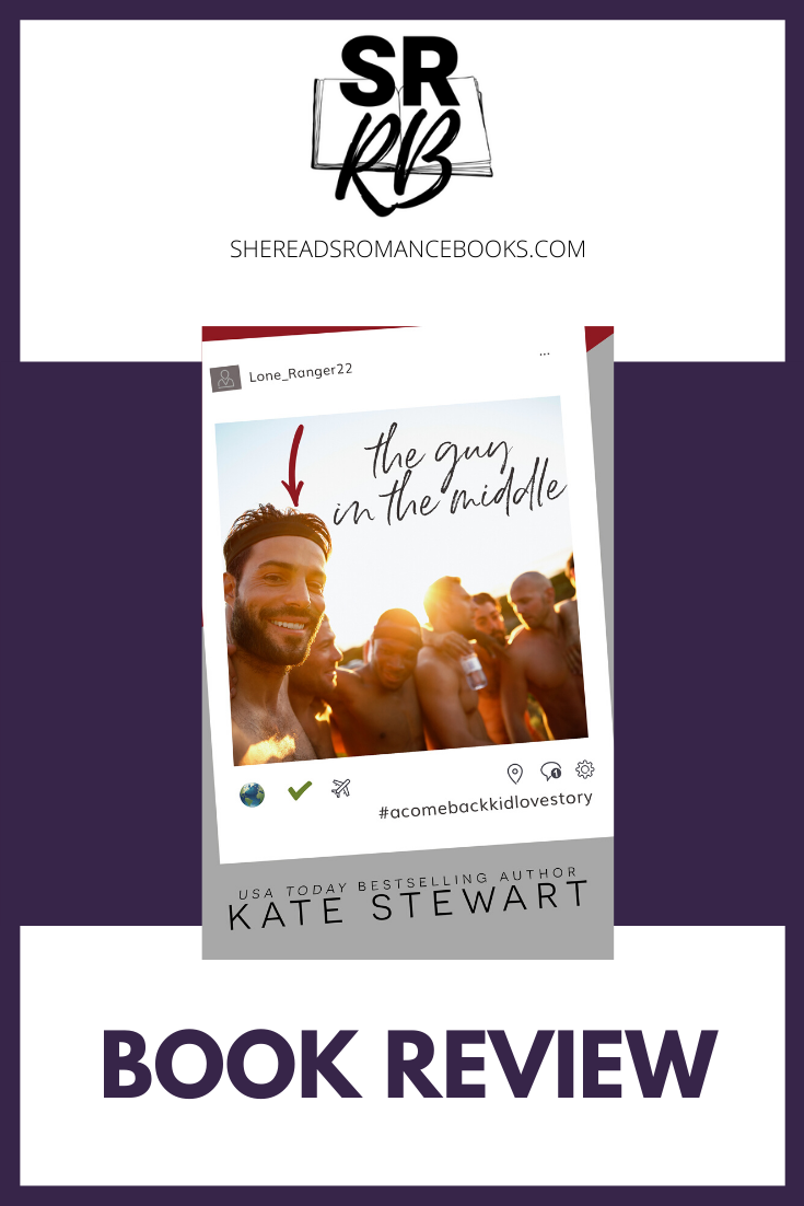 The Guy in the Middle by Kate Stewart is a must read, all time favorite romance book for 2020. Read the book review by romance book blogger, She Reads Romance Books.