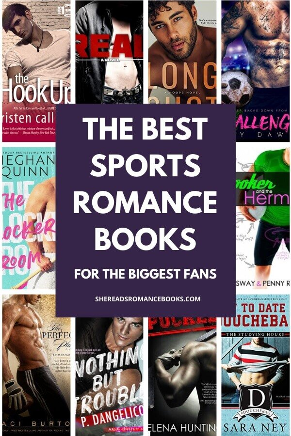 Book list of the best sports romance books to read.