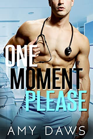 Book Review of  One Moment Please by Amy Daws, a contemporary romance release in April 2020. Review by She Reads Romance Books