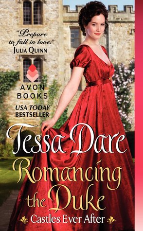 Romancing the Duke  by Tessa Dare was the historical romance book pick for the April 2020 Romance Book Reading Challenge sponsored by She Reads Romance Books. Read her review.