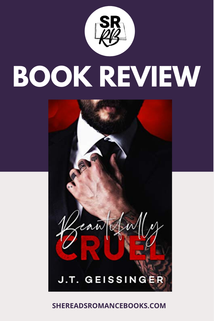 Check out the book review of Beautifully Crue, a dark, contemporary romance by J.T. Geissinger by romance book blogger, She Reads Romance Books
