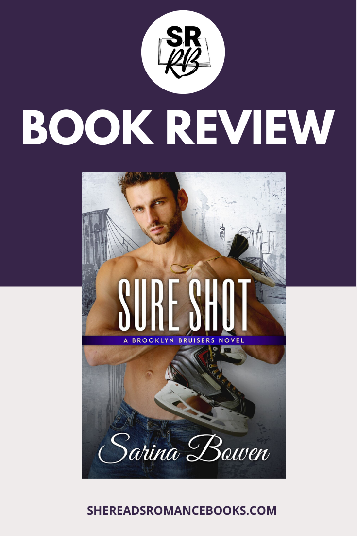 Sure Shot, releasing in May 2020, is the latest romance book release by Sarina Bowen in the Brooklyn series. Fans of hockey romances and second chance romances will want to check out this book. Check out the full book review by popular romance book blogger, She Reads Romance Books.